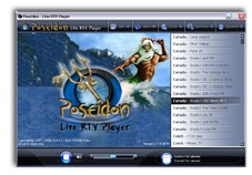 Poseidon - Live RTV Player Screen shot